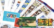 日本切手・中国切手・月と鷹や赤猿など